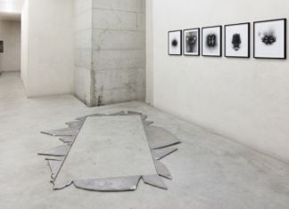 Elia Cantori. Shadow in Process. Exhibition view at CAR DRDE, Bologna 2020