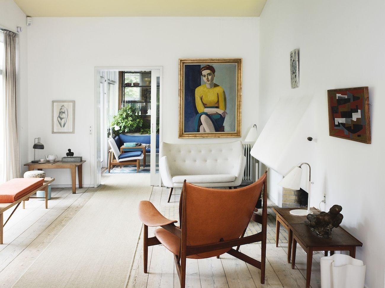 Finn Juhl House, Ordrup, Danimarca, 1941. Photo Henrik Sorensen Photography, 2013