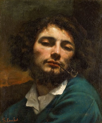 Gustave Courbet, 'Man with Pipe', 1846, Musée Fabre, Montpellier
