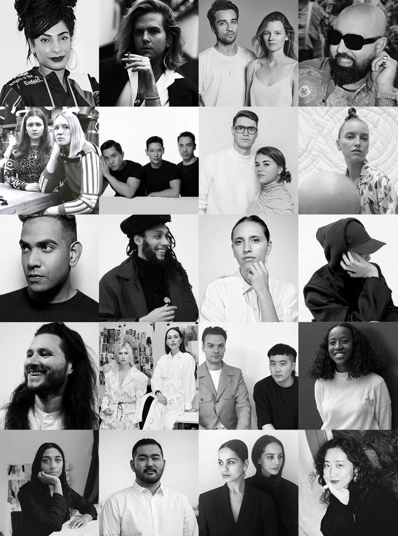 I partecipanti al Louis Vuitton Prize 2020 Courtesy Louis Vuitton