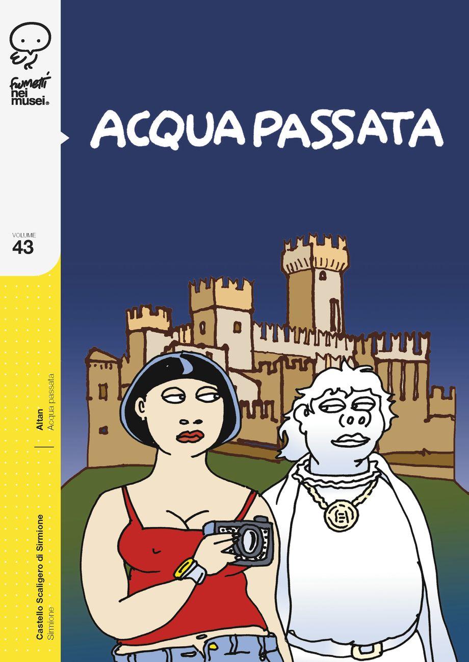 Il fumetto di ALTAN per il Castello Scaligero di Sirmione, Sirmione