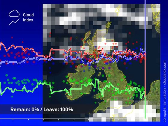 James Bridle, Cloud Index, cloudindx.com, 2016. Courtesy the artist