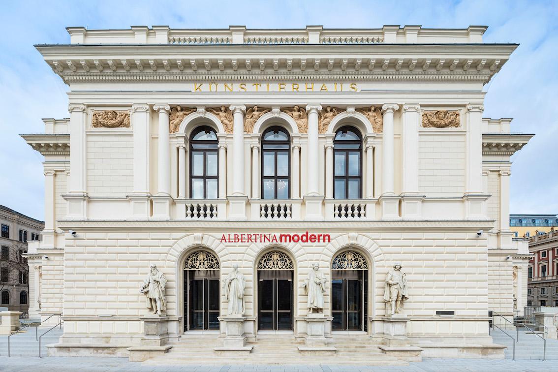 Künstlerhaus (Albertina Modern), Vista frontale © Rupert Steiner