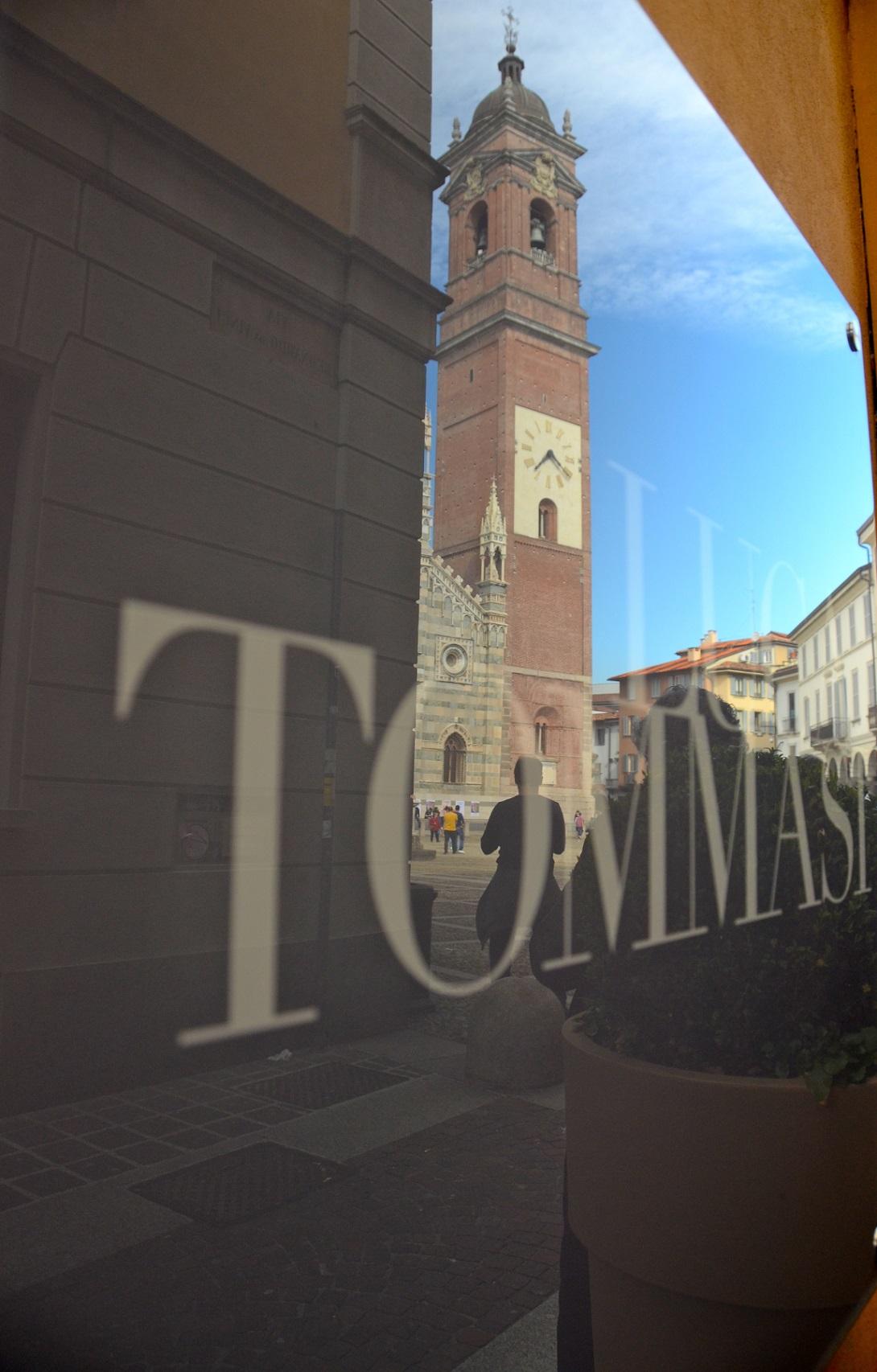 La galleria Luca Tommasi nella sede di Monza