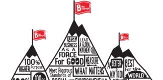 Le B corporation in forma grafica