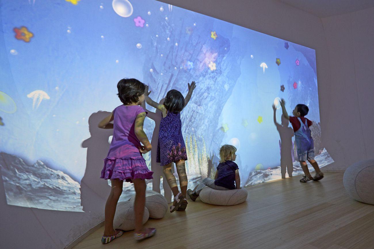 MUSE, Trento. Il Maxi Ooh, lo spazio immersivo dedicato ai bimbi sotto i 5 anni e le loro famiglie