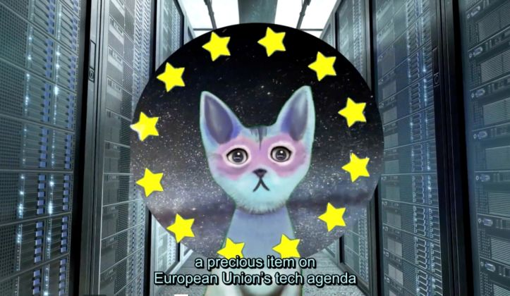 Pinar Yoldas, The Kitty Al Artificial Intelligence for Governance, 2016. Courtesy the artist