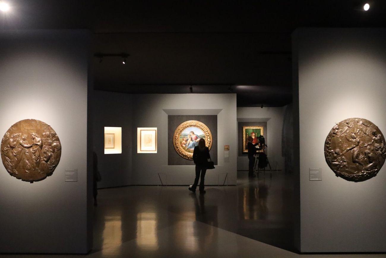 Raffaello. Exhibition view at Scuderie del Quirinale, Roma 2020. Photo Maurizio Isidori