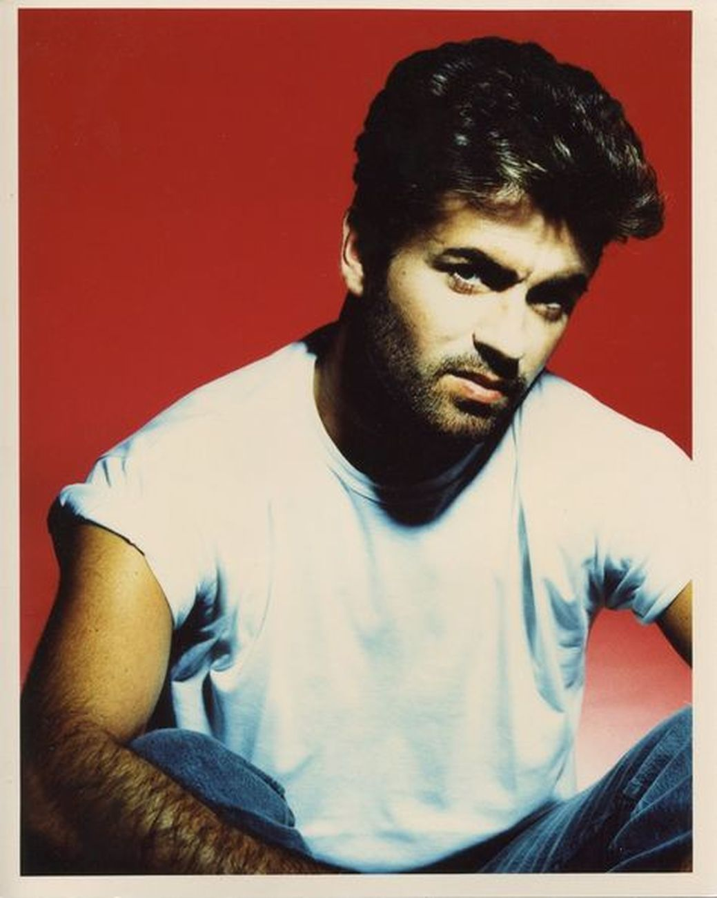 Russell Young, George Michael. Credits George Michael