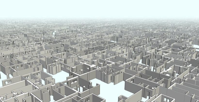 Screenshot of New York Apartment 3D virtual tour. Image courtesy of The Whitney Museum of American Art