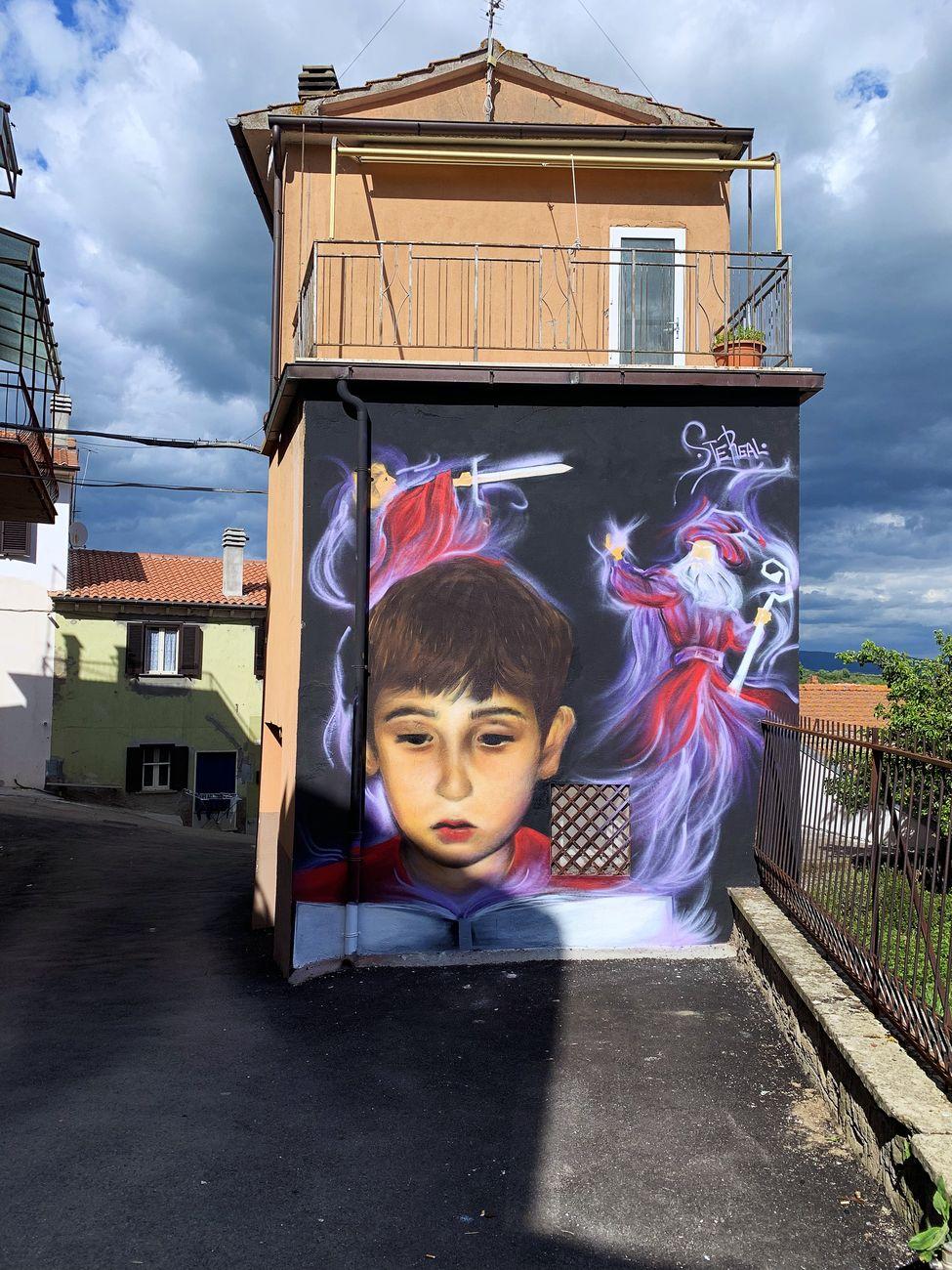 SteReal, La spada nella roccia, Sant'Angelo, VT, maggio 2019