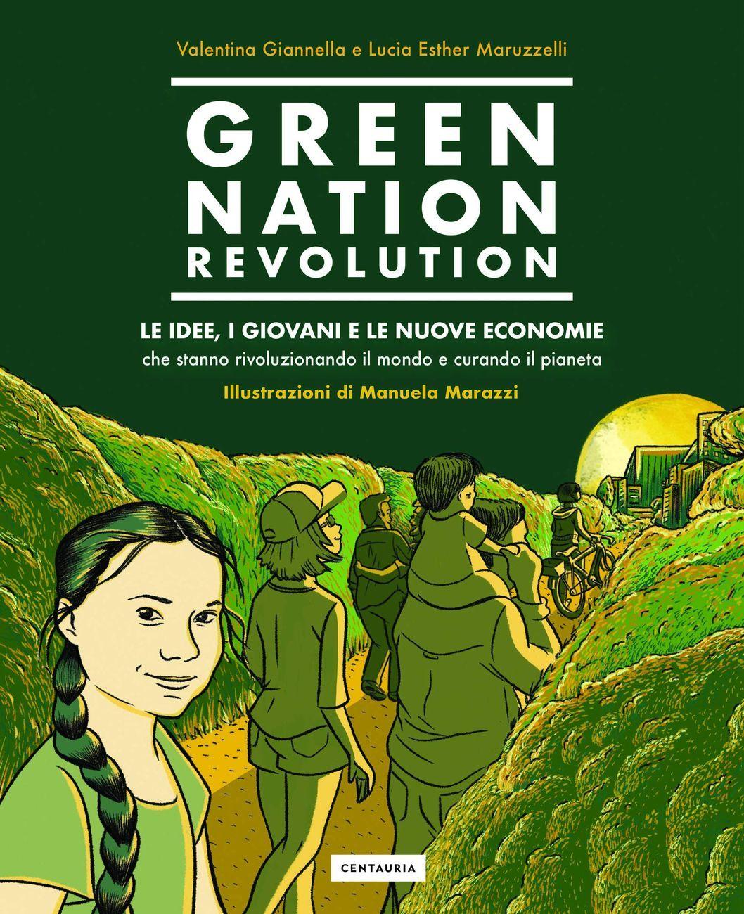 Valentina Giannella & Esther Maruzzelli Green Nation Revolution (Centauria Editore, 2020) _cover