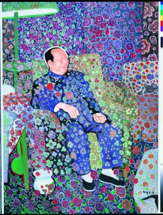 Yu Youhan, Untitled (Chairman Mao), 1996. Courtesy Sigg Collection