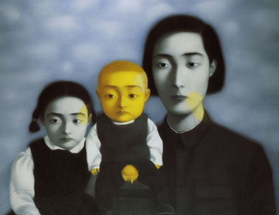 Zhang Xiaogang, Bloodline Series, 1997. Courtesy Sigg Collection