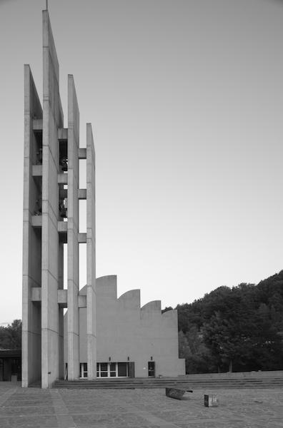 La chiesa Santa Maria Assunta progettata da Alvar Aalto, foto Luca Massari