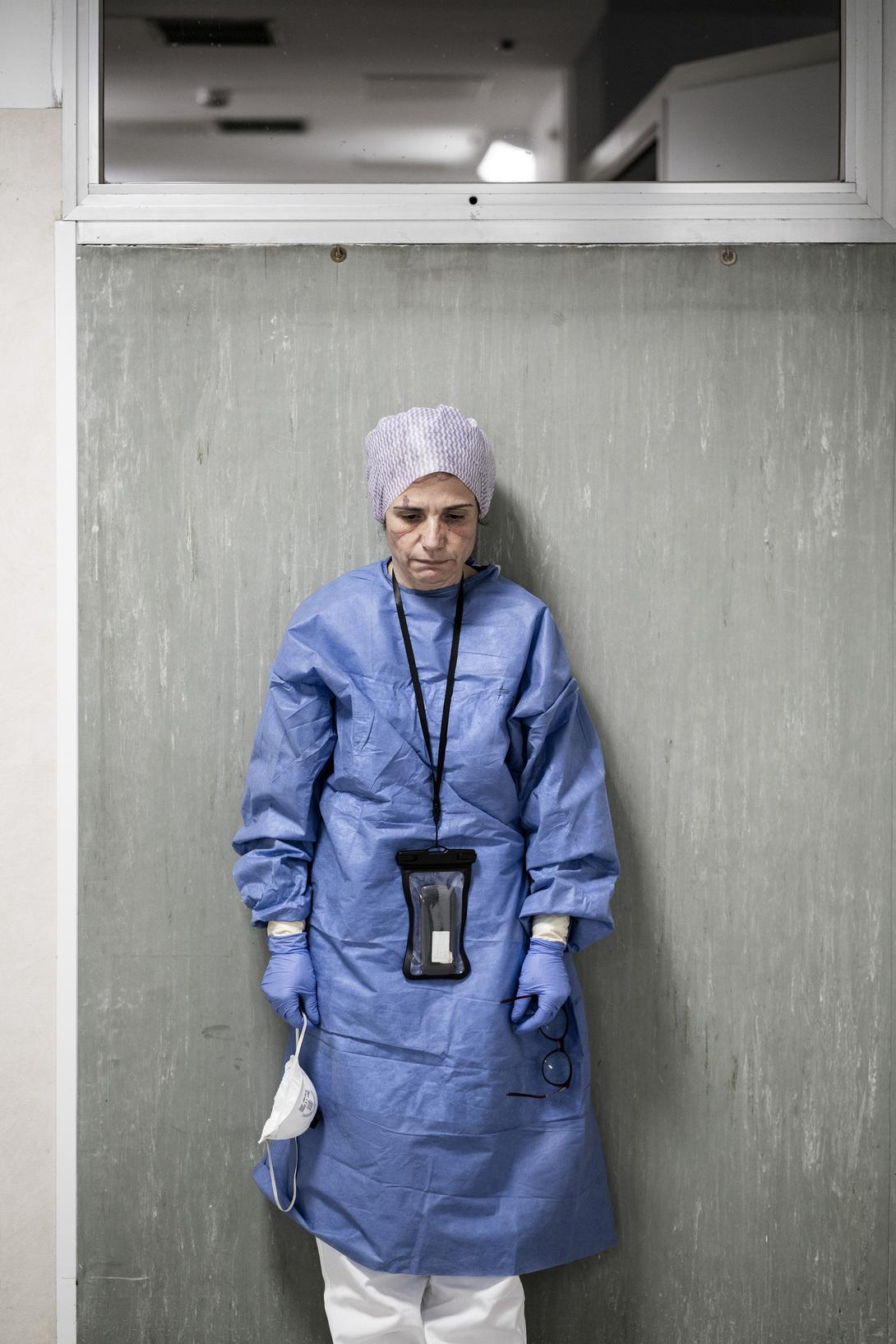 Alberto Giuliani Reportage dall'ospedale di Pesaro Margherita Lambertini, First Aid Surgeon Doctor