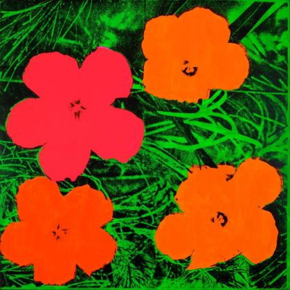 Andy Warhol (1928 – 1987) Flowers 1964 Private collection © 2020 The Andy Warhol Foundation for the Visual Arts, Inc. / Licensed by DACS, London. Andy