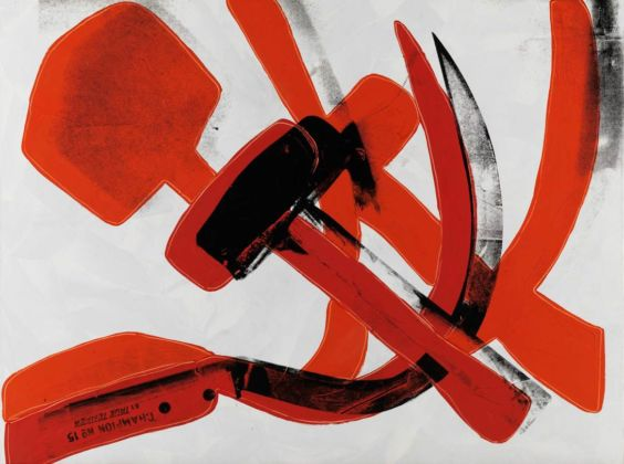 Andy Warhol (1928 – 1987) Hammer and Sickle 1976 Museum Brandhorst © 2020 The Andy Warhol Foundation for the Visual Arts, Inc. / Licensed by DACS, London.