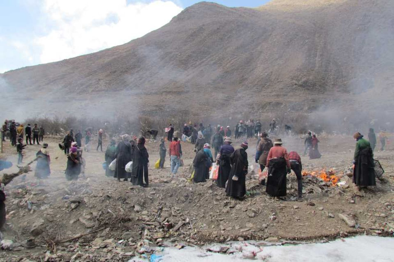 Arahmaiani, The Tibet Project (2010 in corso). Progetto partecipativo community based. Courtesy l'artista