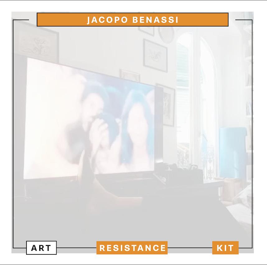Art Resistance Kit, Copertina Jacopo Benassi