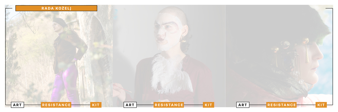 Art Resistance Kit, Copertina Rada Kozelj