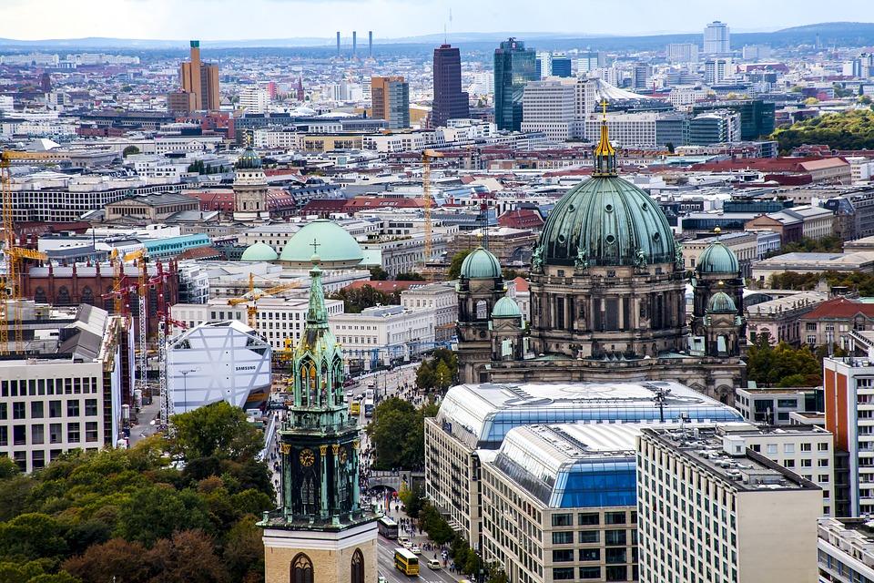 Berlin skyline via Pixabay