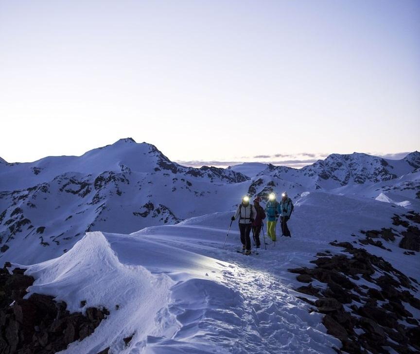Cresta del ghiacciaio della Val Senales, IDM Alto Adige. Photo Alex Filz (dettaglio)
