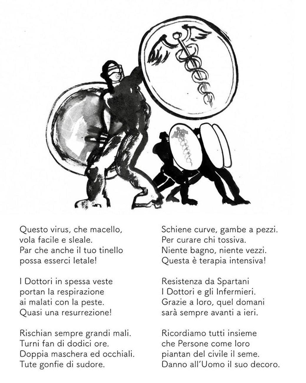 Filastrocche della Peste, 2020. CourtesyDaniele Catalli - Lucio Villani