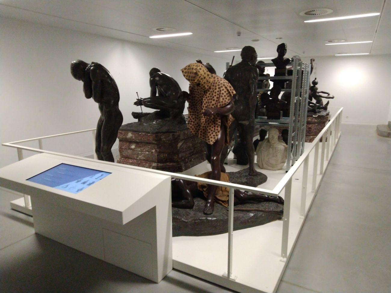 Il Deposito delle Sculture e l'Uomo Leopardo. Photo Fausto Fiorin