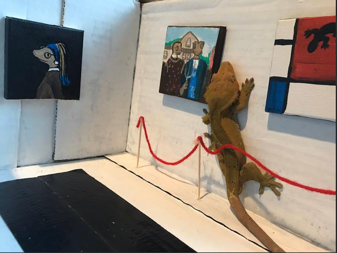 Il Gecko Museum di Dallas credits @jillisyoung via Twitter