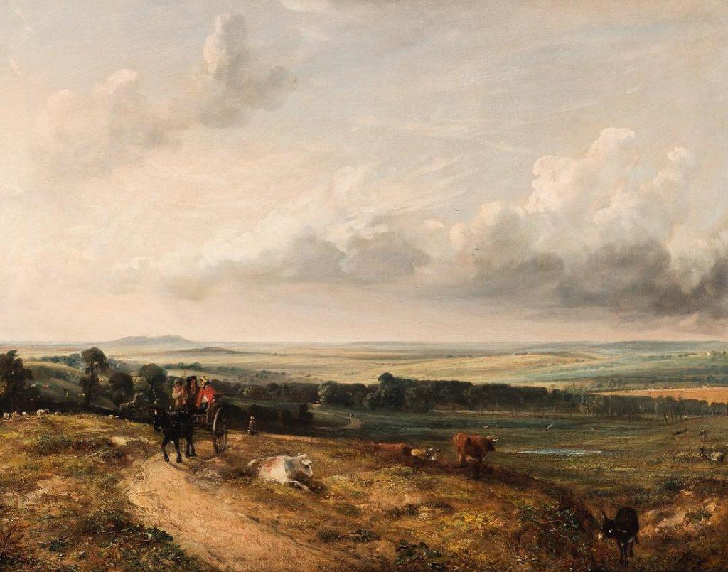 Il quadro oggetto di disputa tra la galleria Dickinson e il Rijksmuseum Twenthe. John Constable, A View of Hampstead Heath. Child's Hill, Harrow in the Distance, 1824