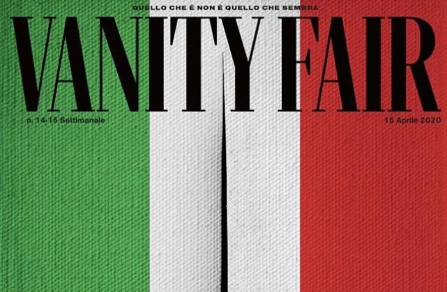 La copertina di Vanity Fair progettata da Francesco Vezzoli - dettaglio