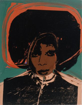 Andy Warhol (1928 – 1987) Ladies and Gentlemen (Helen/Harry Morales) 1975 Italian private collection © 2020 The Andy Warhol Foundation for the Visual Arts, Inc. / Licensed by DACS, London.