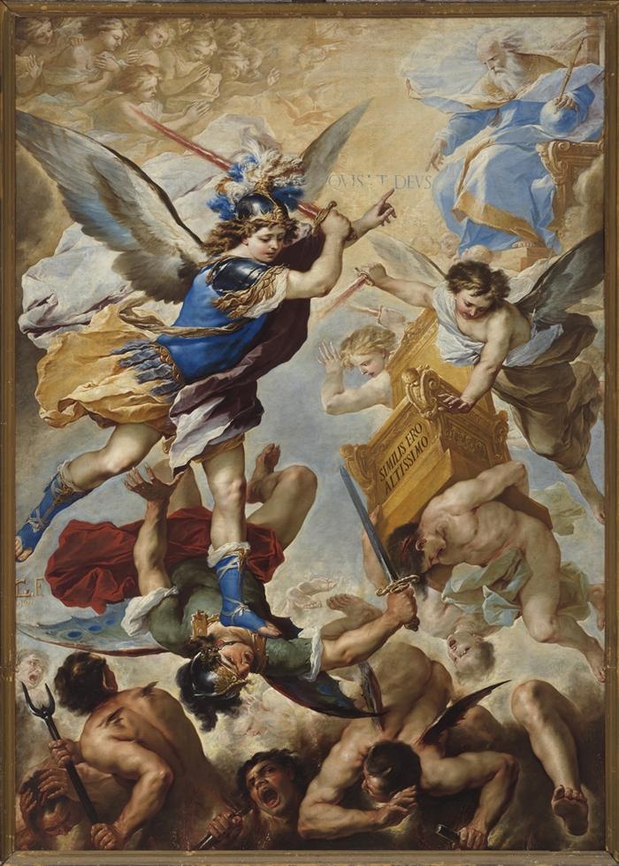 Luca Giordano, San Michele ©pedicini304592