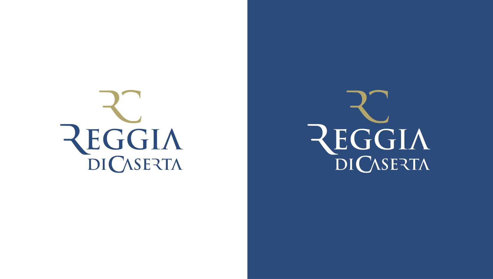 Reggia di Caserta nuovo logo