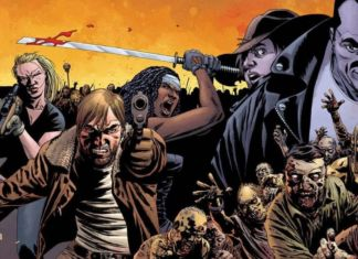 Robert Kirkman & Tony Moore, The Walking Dead #1 (saldaPress, 2013)