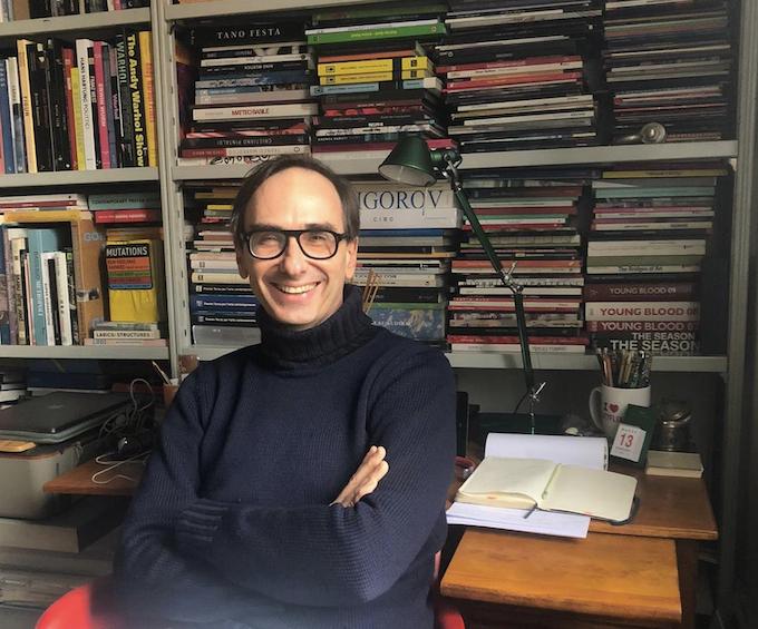 Il critico e curatore Gianluca Marziani