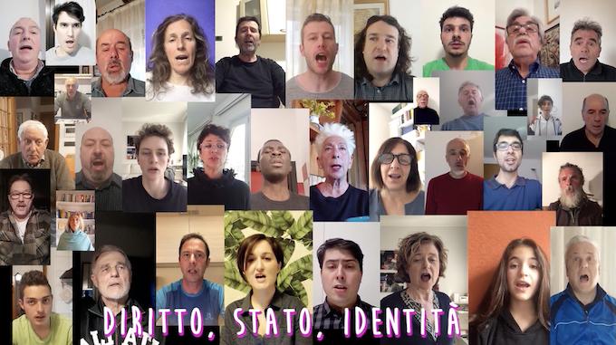 Valentina Miorandi, Inno Costituzionale d'Italia - still video