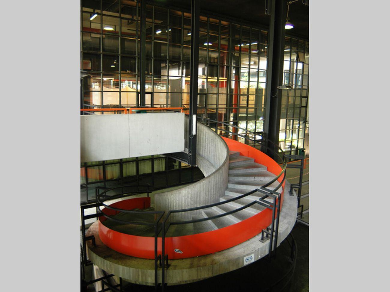 Vittoriano Viganò, Ampliamento Sede del Politecnico di Milano, 1970 1983. Foto di Federico Balestrini Credits Fondazione dell'Ordine degli Architetti di Milano