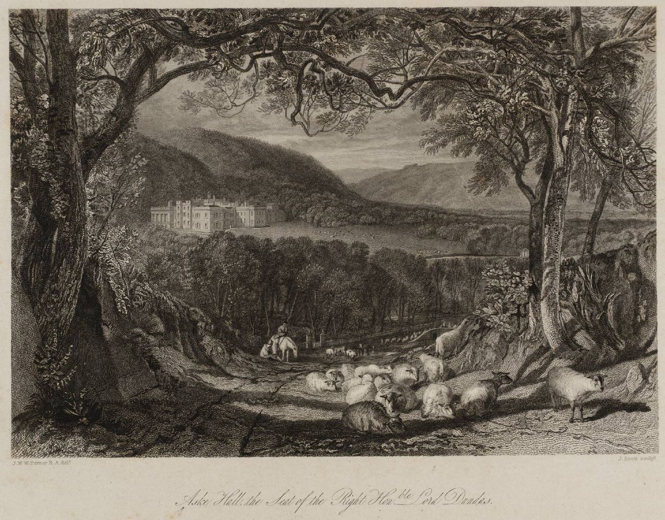 William Turner, dalla serie Aske Hall, 1820