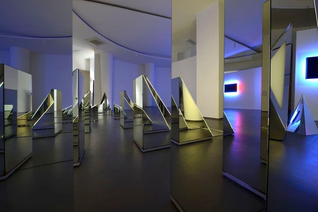 Macte, la mostra di Nanda Vigo