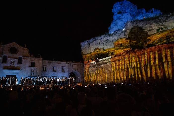 Matera, la Cavalleria Rusticana nel Sasso Caveoso foto Matera 2019