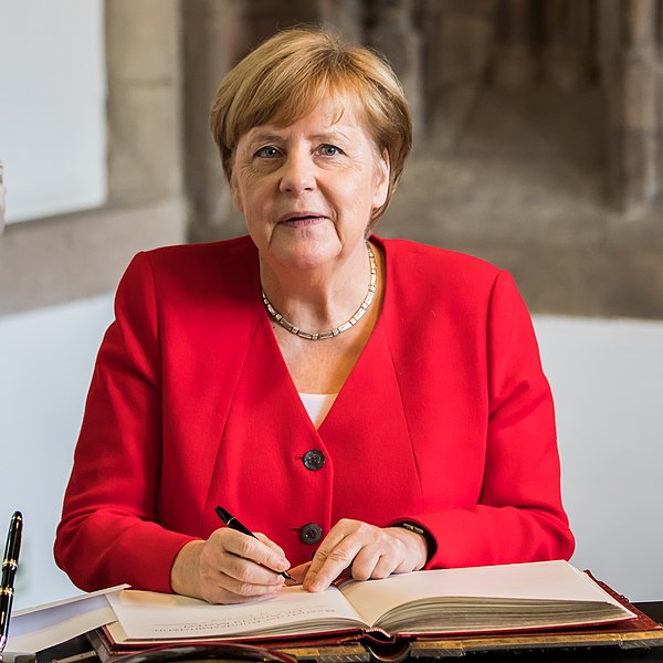 Angela Merkel via Wikipedia