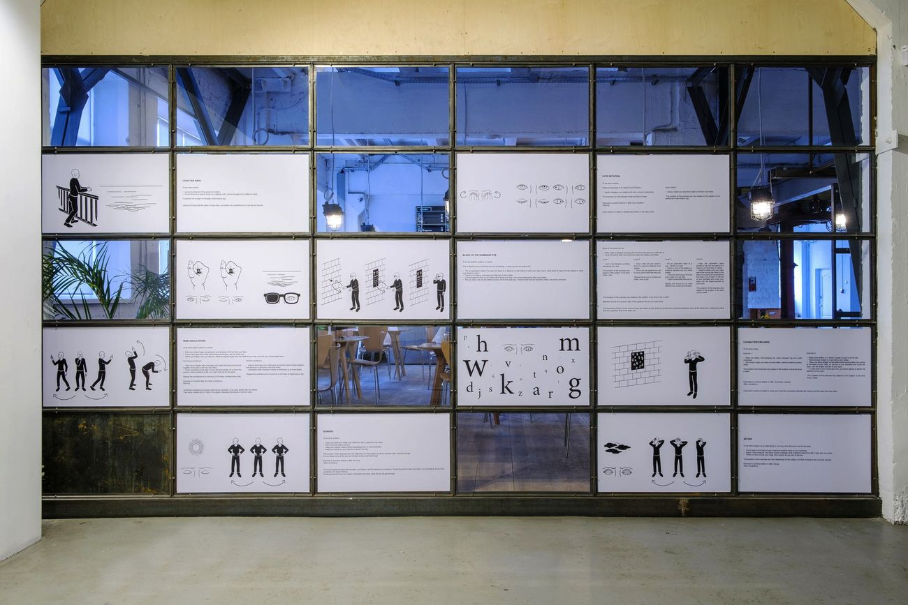 Antonio Della Guardia. For a forthcoming reality. Installation view at Fondazione Izolyatsia