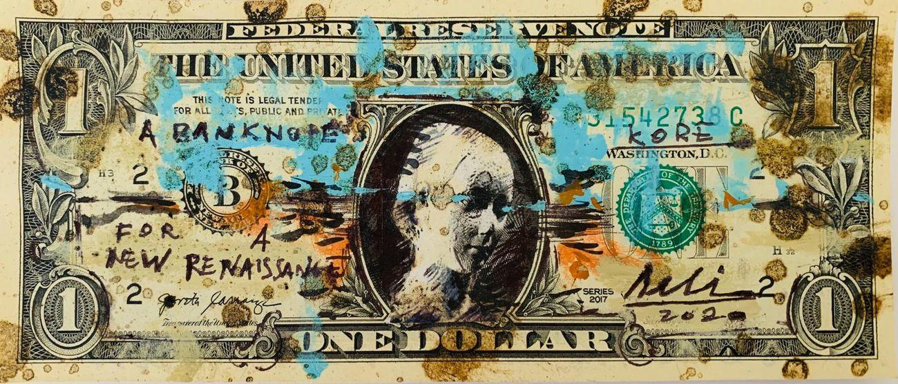 Arte su dollari americani. Alessio Deli