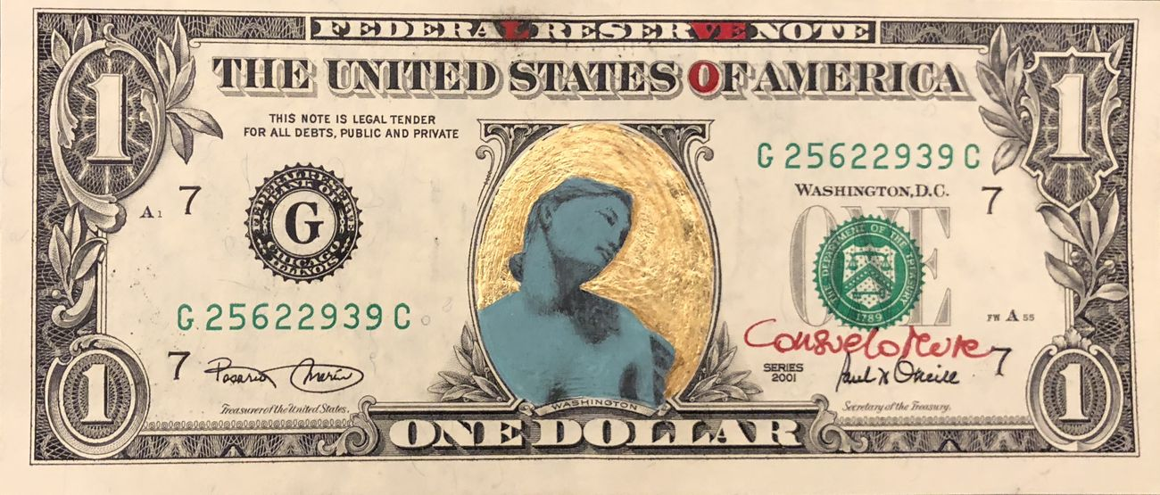 Arte su dollari americani. Consuelo Mura