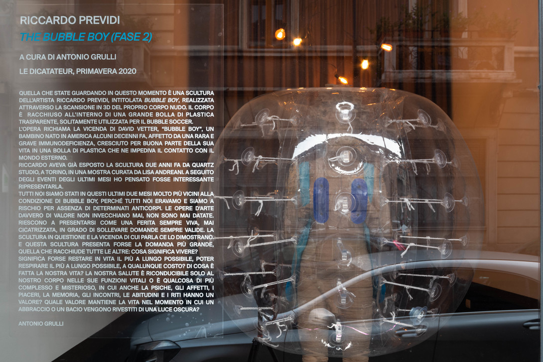 Bubble Boy Fase 2, Le Dictateur © Beatrice Benatti