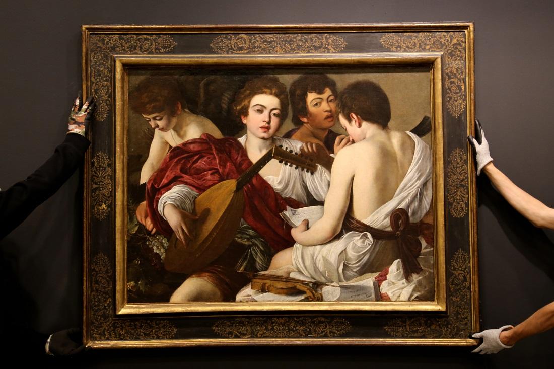 Caravaggio in Bergamo, AccademiaCarrara photo Adi Corbetta