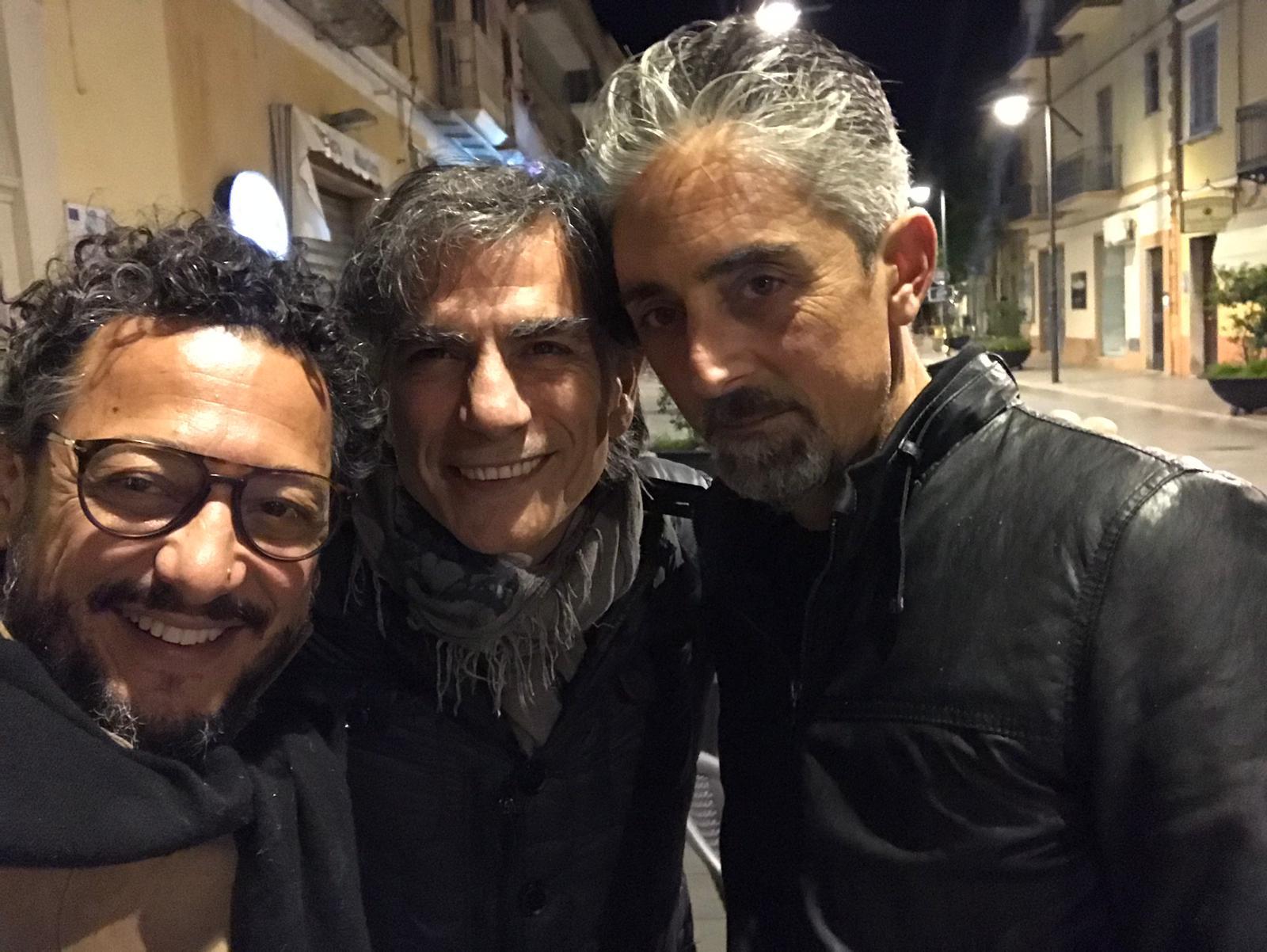 Dario De Luca, Saverio La Ruina, Settimio Pisano. Courtesy Primavera dei Teatri