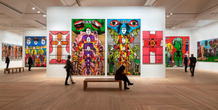 Gilbert and George 2019 courtesy Moderna Museet Stoccolma